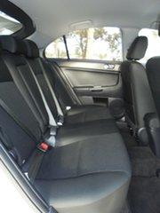 2014 Mitsubishi Lancer CJ MY14.5 GSR Sportback White 6 Speed Constant Variable Hatchback