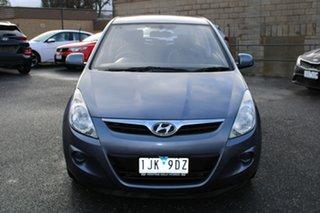 2010 Hyundai i20 PB Active Grey 4 Speed Automatic Hatchback.