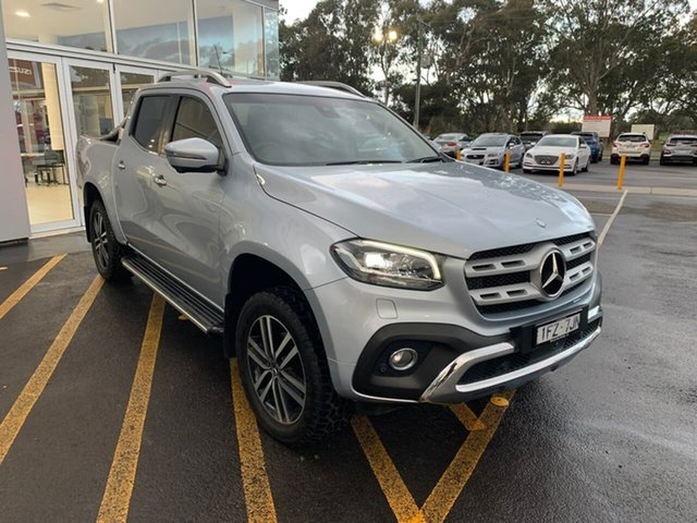 Used Mercedes-Benz X-Class 470 X250d 4MATIC Power Epsom, 2018 Mercedes-Benz X-Class 470 X250d 4MATIC Power Silver 6 Speed Manual Utility