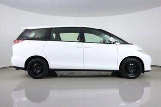 2013 Toyota Tarago ACR50R MY13 GLi White 7 Speed CVT Auto Sequential Wagon