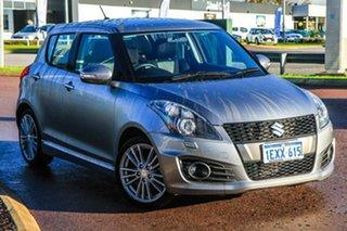 2015 Suzuki Swift FZ MY15 Sport Silver 7 Speed Constant Variable Hatchback.