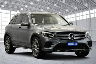 2017 Mercedes-Benz GLC-Class X253 807MY GLC250 d 9G-Tronic 4MATIC Grey 9 Speed Sports Automatic.