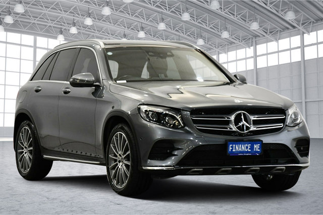 Used Mercedes-Benz GLC-Class X253 807MY GLC250 d 9G-Tronic 4MATIC Victoria Park, 2017 Mercedes-Benz GLC-Class X253 807MY GLC250 d 9G-Tronic 4MATIC Grey 9 Speed Sports Automatic