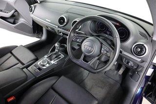2017 Audi A3 8V MY17 1.4 TFSI Sportback CoD Blue 7 Speed Auto S-Tronic Hatchback