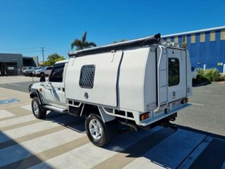 2014 Toyota Landcruiser VDJ79R MY12 Update GXL (4x4) French Vanilla 5 Speed Manual Cab Chassis