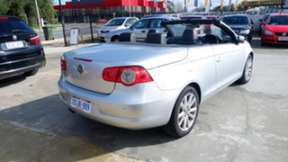 2010 Volkswagen EOS 1F MY09 147TSI DSG Silver 6 Speed Sports Automatic Dual Clutch Convertible