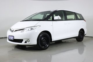 2013 Toyota Tarago ACR50R MY13 GLi White 7 Speed CVT Auto Sequential Wagon.