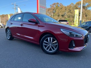 2019 Hyundai i30 Active Red Sports Automatic Hatchback.