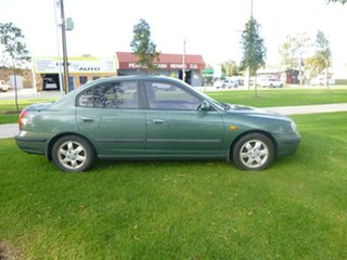 2002 Hyundai Elantra XD GLS Green 4 Speed Automatic Sedan.