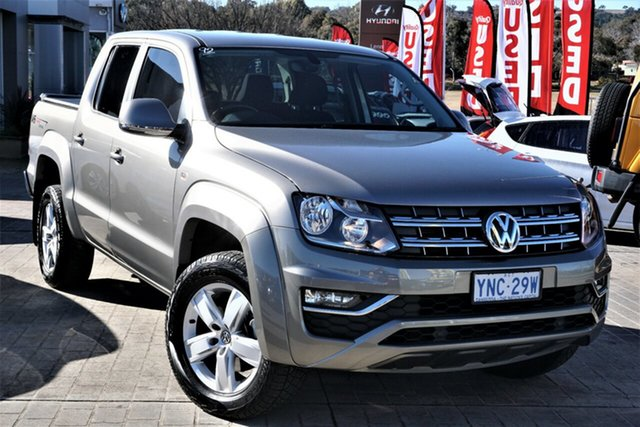 Used Volkswagen Amarok 2H MY18 TDI550 4MOTION Perm Core Phillip, 2018 Volkswagen Amarok 2H MY18 TDI550 4MOTION Perm Core Beige 8 Speed Automatic Utility