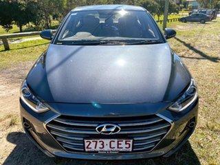 2018 Hyundai Elantra AD MY18 Trophy Grey 6 Speed Sports Automatic Sedan.