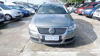 2008 Volkswagen Passat Type 3C MY08 TDI DSG Green 6 Speed Sports Automatic Dual Clutch Wagon.