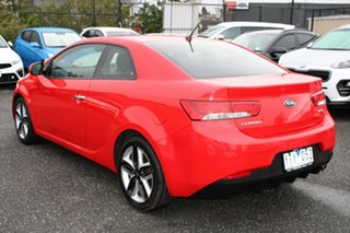 2010 Kia Cerato TD MY11 Koup SLS Red 6 Speed Sports Automatic Coupe
