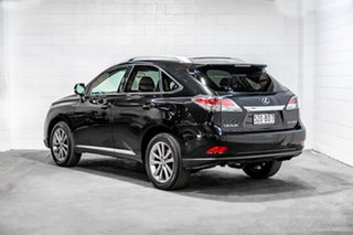2013 Lexus RX GGL15R MY12 RX350 Sports Luxury Black 6 Speed Sports Automatic Wagon.