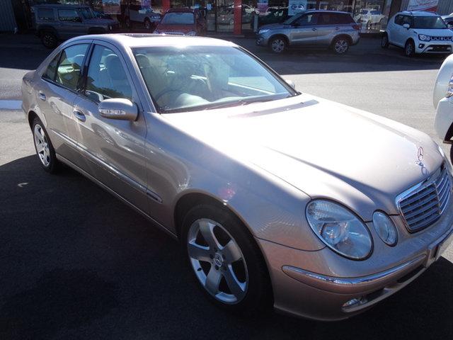 Used Mercedes-Benz E320 211 Elegance Wagga Wagga, 2003 Mercedes-Benz E320 211 Elegance Alexandrite Gold 5 Speed Auto Touchshift Sedan