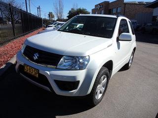 2016 Suzuki Grand Vitara JT MY15 Navigator (4x4) Abalone White 4 Speed Automatic Wagon.