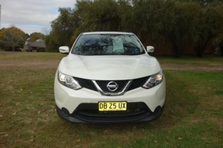 2016 Nissan Qashqai J11 ST White 1 Speed Constant Variable Wagon.