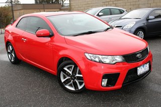 2010 Kia Cerato TD MY11 Koup SLS Red 6 Speed Sports Automatic Coupe.