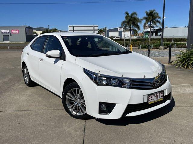 Used Toyota Corolla ZRE172R SX S-CVT Townsville, 2016 Toyota Corolla ZRE172R SX S-CVT White 7 Speed Constant Variable Sedan
