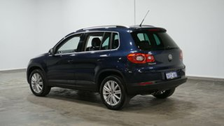 2011 Volkswagen Tiguan 5N MY11 147TSI DSG 4MOTION Blue 7 Speed Sports Automatic Dual Clutch Wagon.
