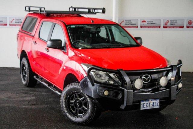 Pre-Owned Mazda BT-50 MY16 XT (4x4) Myaree, 2016 Mazda BT-50 MY16 XT (4x4) Red 6 Speed Automatic Dual Cab Utility
