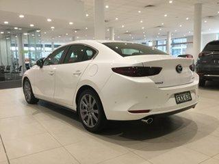 2020 Mazda 3 BP2SLA G25 SKYACTIV-Drive Evolve White 6 Speed Sports Automatic Sedan