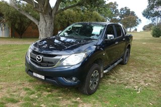 2015 Mazda BT-50 UP0YF1 XTR Blue 6 Speed Sports Automatic Utility.