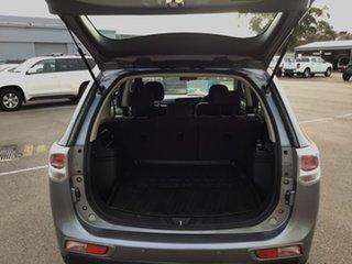 2014 Mitsubishi Outlander ZJ MY14.5 ES 2WD Grey 6 Speed Constant Variable Wagon