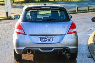 2015 Suzuki Swift FZ MY15 Sport Silver 7 Speed Constant Variable Hatchback