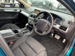 2009 Ford Falcon FG XR6 Green 6 Speed Auto Seq Sportshift Sedan