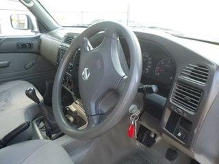 2010 Nissan Patrol GU 6 DX White Manual Cab Chassis