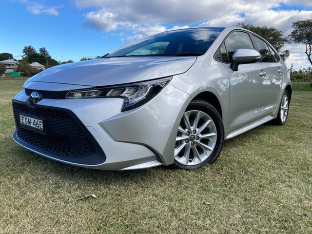 Used Toyota Corolla Mzea12R Ascent Sport South Grafton, 2019 Toyota Corolla Mzea12R Ascent Sport Silver Pearl 10 Speed Constant Variable Hatchback