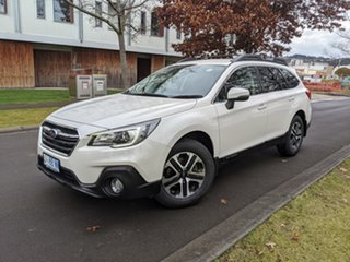 2018 Subaru Outback B6A MY18 2.0D CVT AWD Crystal White Pearl 7 Speed Constant Variable Wagon.