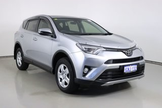 2018 Toyota RAV4 ZSA42R MY18 GX (2WD) Silver Continuous Variable Wagon.