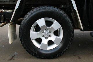 2011 Nissan Navara D40 ST (4x4) Black 5 Speed Automatic Dual Cab Pick-up