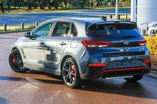 2021 Hyundai i30 Pde.v4 MY22 N Premium With Sunroof Dark Knight 8 Speed Auto Dual Clutch Hatchback.