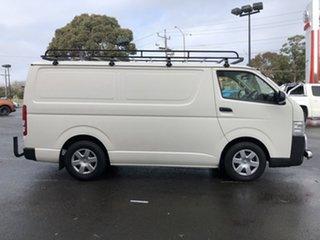 2017 Toyota HiAce KDH201R MY16 LWB French Vanilla 5 Speed Manual Van.