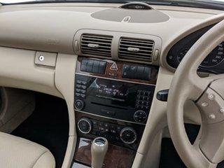 2005 Mercedes-Benz C-Class W203 MY2005 C200 Kompressor Classic Silver 5 Speed Sports Automatic Sedan