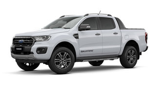 2021 Ford Ranger PX MkIII Wildtrak Arctic White 10 Speed Automatic Pick Up