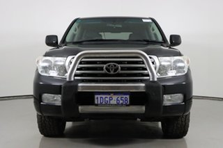 2009 Toyota Landcruiser UZJ200R 09 Upgrade VX (4x4) Black 5 Speed Automatic Wagon.