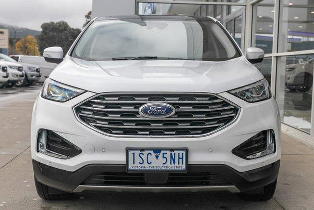 Used Ford Endura CA 2019MY Titanium Ferntree Gully, 2019 Ford Endura CA 2019MY Titanium White 8 Speed Sports Automatic Wagon
