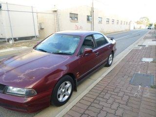 2001 Mitsubishi Magna TJ Advance Burgundy 4 Speed Automatic Sedan
