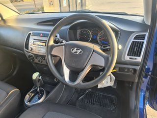2012 Hyundai i20 PB MY12 Active Blue 4 Speed Automatic Hatchback