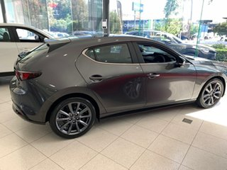 2021 Mazda 3 BP2H7A G20 SKYACTIV-Drive Evolve Machine Grey 6 Speed Sports Automatic Hatchback.