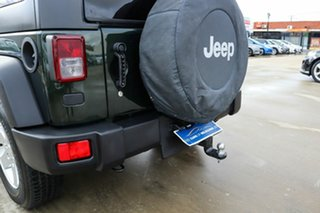 2011 Jeep Wrangler JK MY2010 Sport Green 6 Speed Manual Softtop.