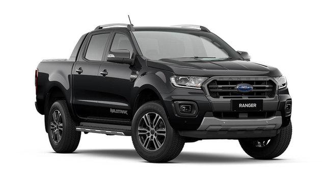 New Ford Ranger Wildtrak Hamilton, 2021 Ford Ranger PX MkIII Wildtrak Shadow Black 6 Speed Automatic Pick Up