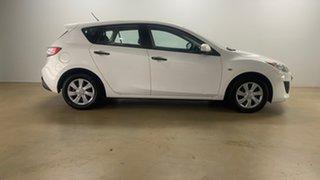 2010 Mazda 3 BL Neo White 6 Speed Manual Hatchback.
