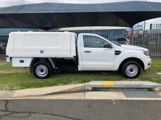 2015 Ford Ranger PX MkII XL 2.2 (4x2) White 6 Speed Manual Cab Chassis.