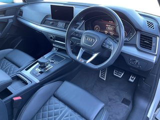 2017 Audi SQ5 FY MY18 Tiptronic Quattro Ibis White 8 Speed Sports Automatic Wagon.