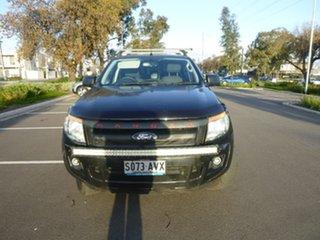 2013 Ford Ranger PX XL Hi-Rider Black Sports Automatic Utility.
